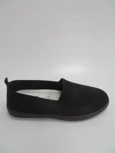 Półbuty Damskie HL-19016, Black, 36-41