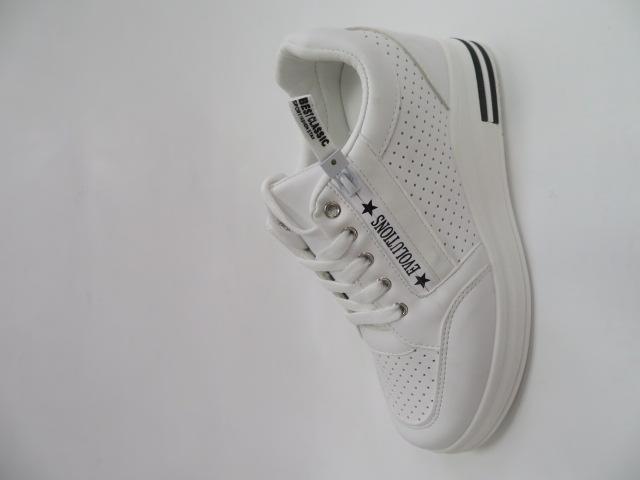 Sportowe Damskie AB887,White, 36-41