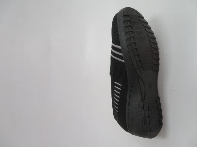 Półbuty Damskie 13005-1, All Black, 36-41