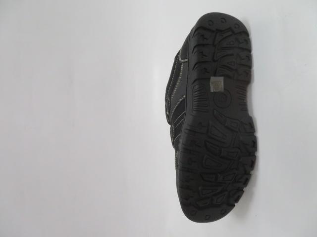 Buty Sportowe Męskie 701-1B, Black/Grey, 40-46 3