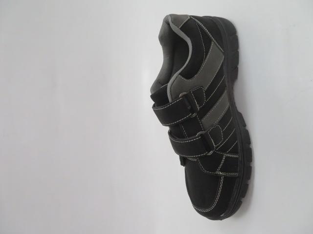 Buty Sportowe Męskie 702-1B, Black/Grey, 40-46 2
