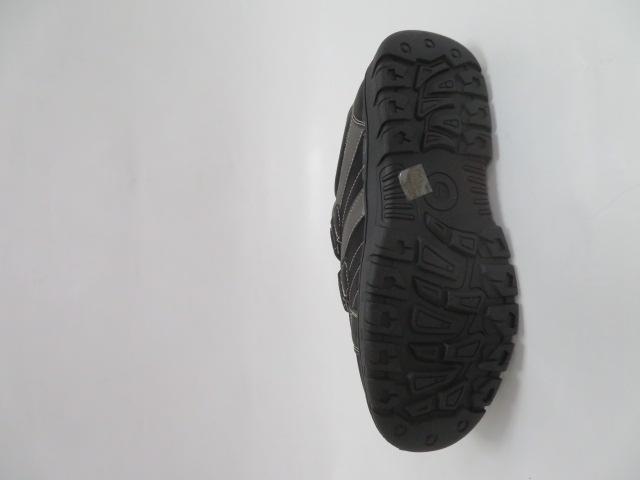Buty Sportowe Męskie 702-1B, Black/Grey, 40-46 3