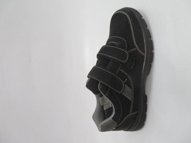 Buty Sportowe Męskie 703-1B, Black/Grey, 40-46