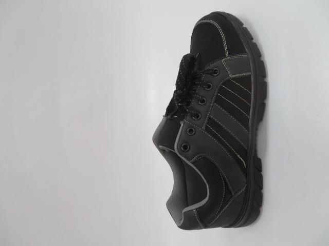 Buty Sportowe Męskie 702-3, Grey/Black, 40-46
