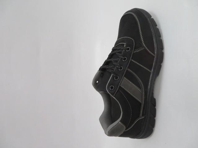 Buty Sportowe Męskie 703-1,Black/Grey, 40-46
