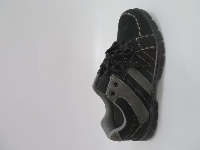 Buty Sportowe Męskie 702-1, Black/Grey, 40-46 1