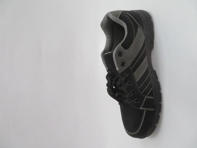 Buty Sportowe Męskie 702-1, Black/Grey, 40-46 2