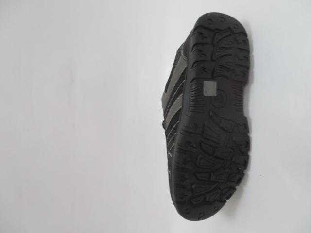 Buty Sportowe Męskie 702-1, Black/Grey, 40-46 3