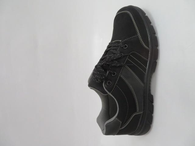 Buty Sportowe Męskie 701-1, Black/Grey, 40-46