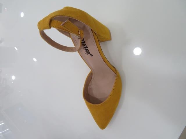 Czółenka Damskie  NC1007, Yellow, 36-41