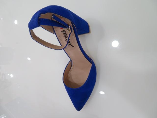 Czółenka Damskie NC1007, Blue, 36-41