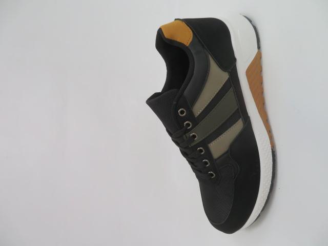 Buty Sportowe Męskie FAB-46, Black, 40-45