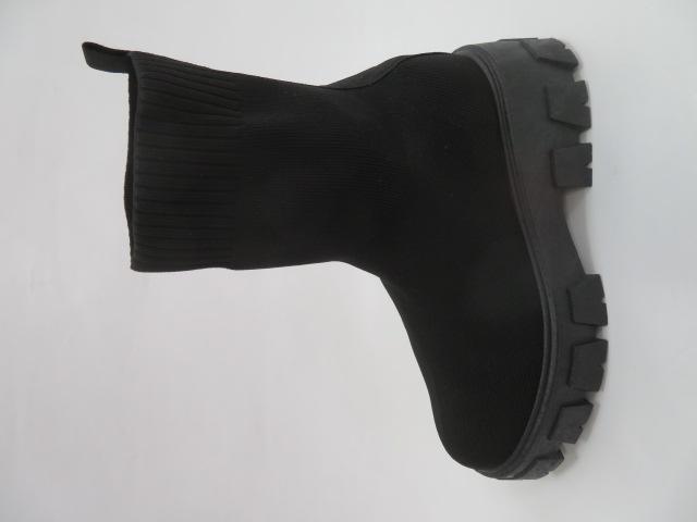 Botki Damskie PC91, Black, 36-41