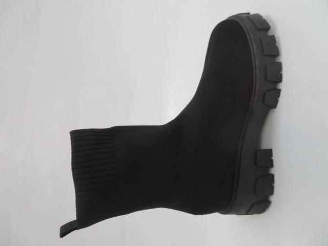 Botki Damskie PC91, Black, 36-41 3
