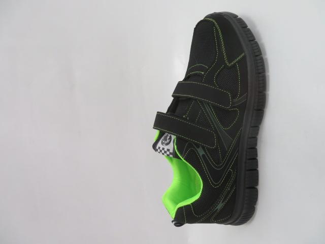Buty Sportowe Męskie 6026A-4, Black/Green, 41-46 1