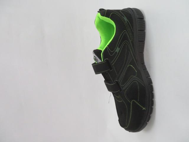 Buty Sportowe Męskie 6026A-4, Black/Green, 41-46 2