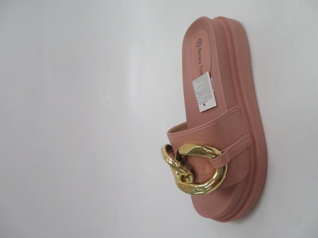 Klapki Damskie LS226, Pink, 36-41 3