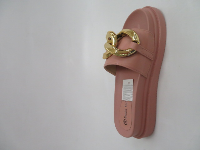 Klapki Damskie LS226, Pink, 36-41