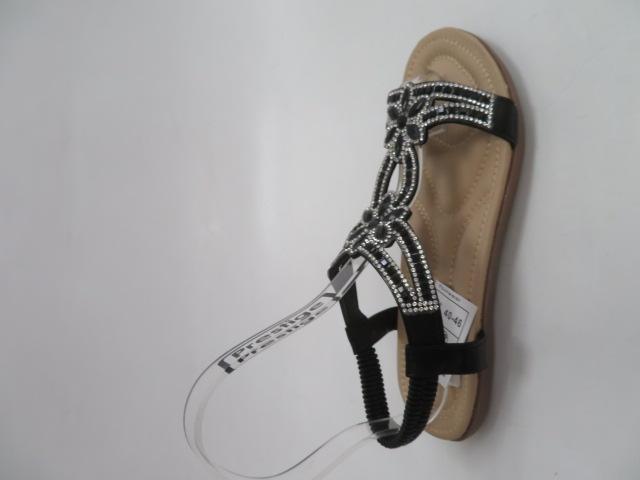 Sandały Damskie 6662, Black, 36-41