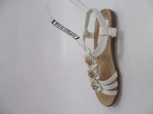 Sandały Damskie 6615, White, 36-41