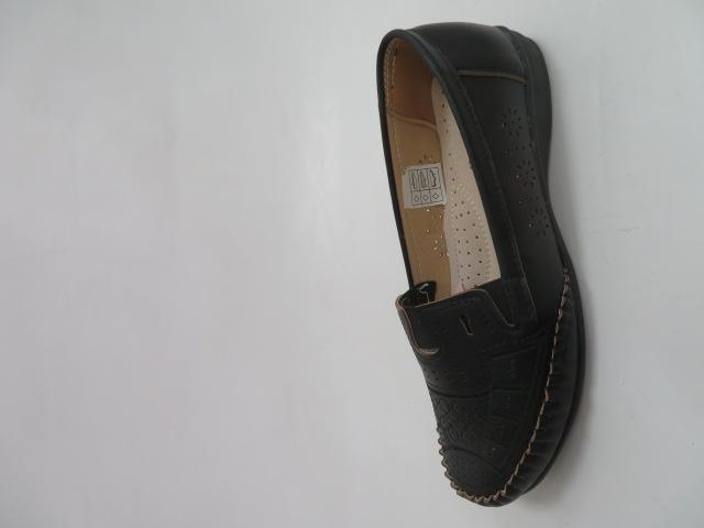 Półbuty Damskie KY-77, Black , 36-41