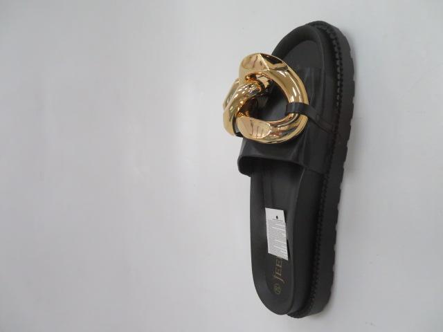 Klapki Damskie J132, Black, 36-41 2