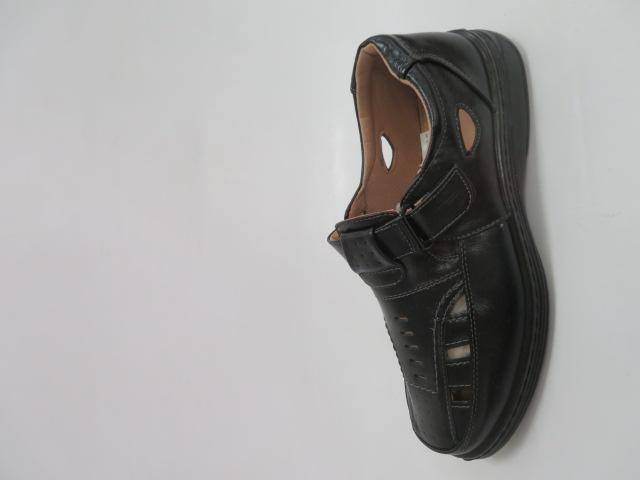 Półbuty Męskie JA59, Black, 40-46