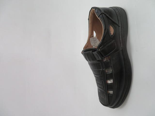 Półbuty Męskie JA82, Black, 40-46