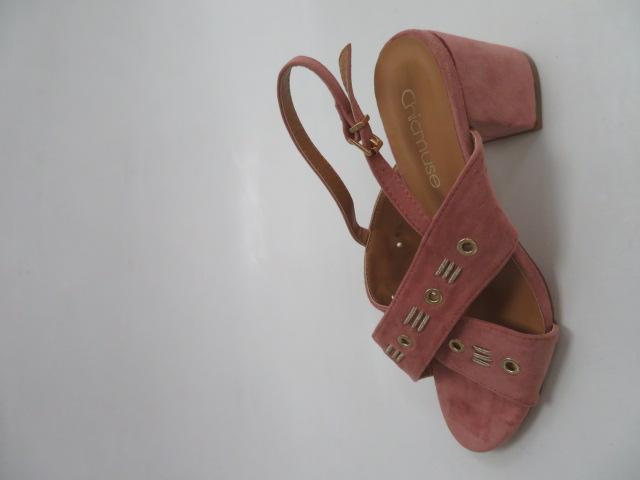 Sandały Damskie MI 115, Pink, 36-41
