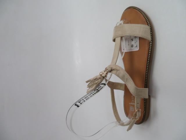 Sandały Damskie H143, Beige, 36-41