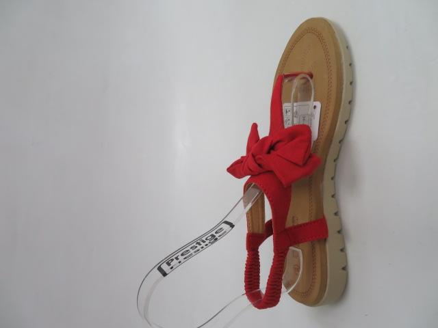 Sandały Damskie 697-4, Red, 36-41