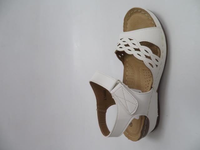 Sandały Damskie 14448, White, 36-41