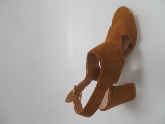 Sandały Damskie 1-113, Camel, 36-41