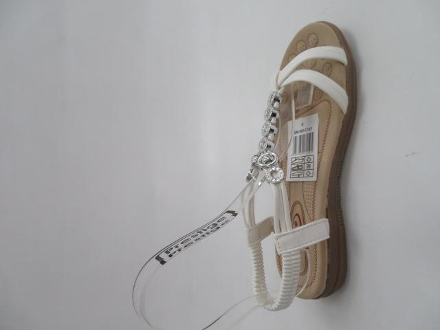 Sandały Damskie 858-8, White, 36-41