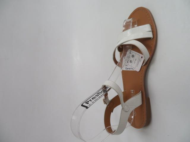 Sandały Damskie HTY-3, White, 36-41