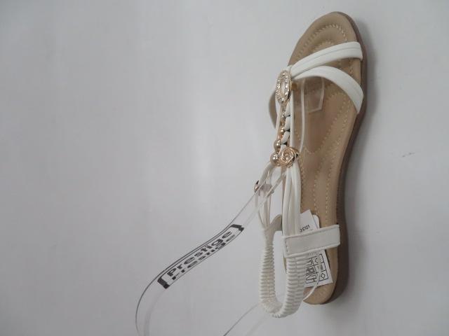 Sandały Damskie 858-3, White, 36-41