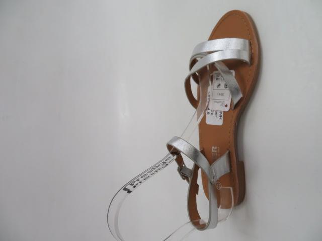 Sandały Damskie HTY-3, Silver, 36-41