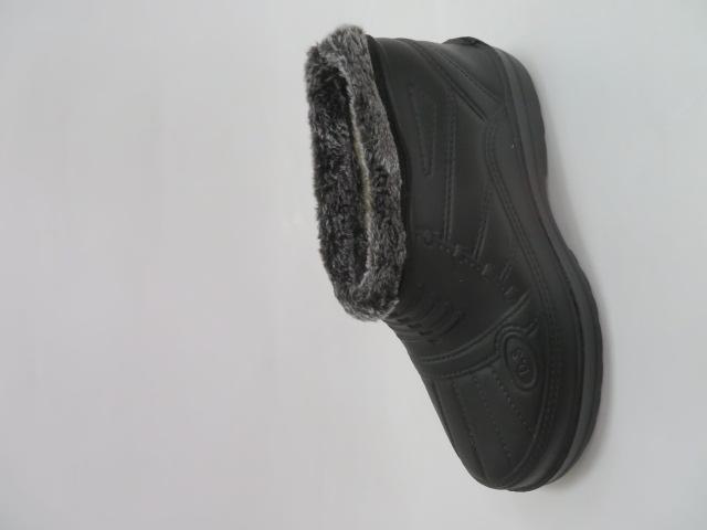 Trzewiki Męskie Zimowe GP-03, Black, 41-46