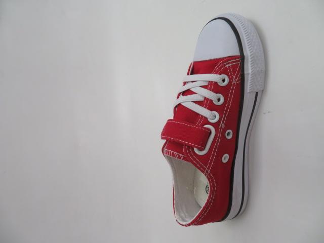 Trampki Dziecięce WQ802, Red, 31-36