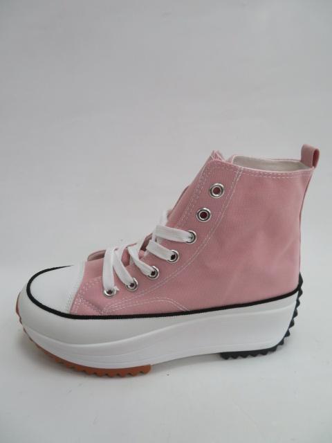 Botki Damskie VL135, Pink, 36-41