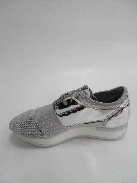 Sportowe Damskie B18-34, Silver,  36-41