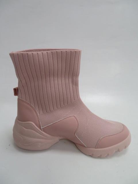 Botki Damskie LA156, Pink, 36-41