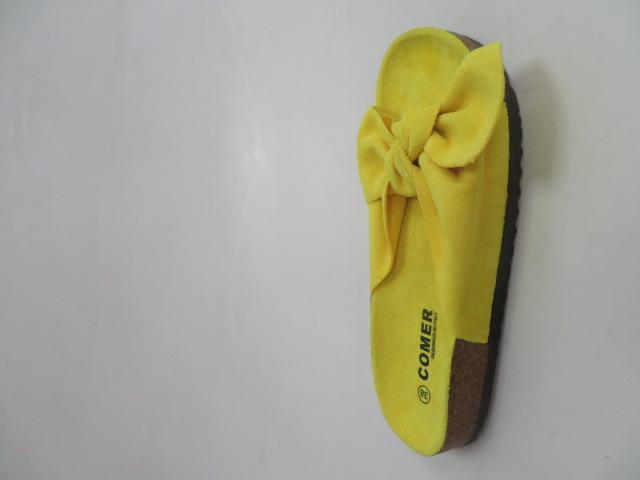 Klapki Damskie SAR-15, Yellow, 36-41