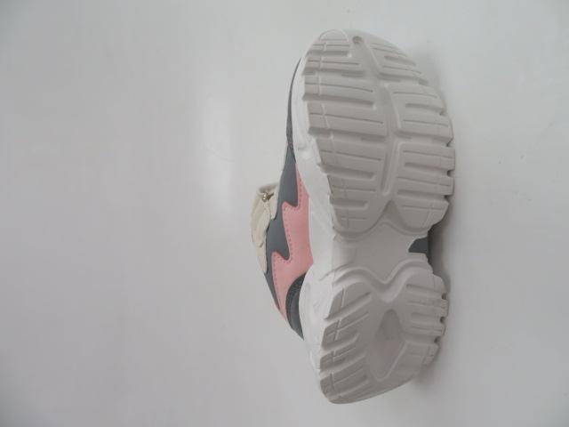 Buty Sportowe Dziecięce E67, Gray Pink, 26-31 3