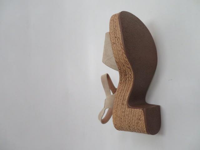 Sandały Damskie EX-16, Beige, 36-41