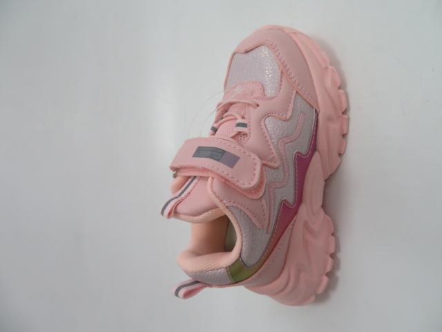 Buty Sportowe Dziecięce E67, Pink, 26-31