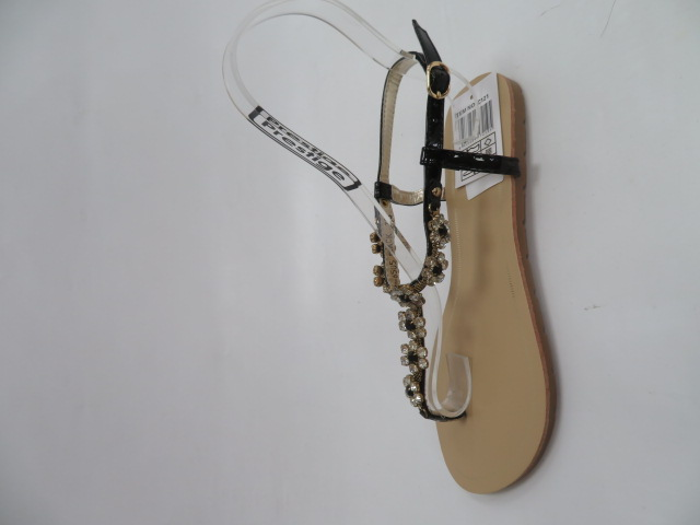 Sandały Damskie D-6505, Black, 36-41