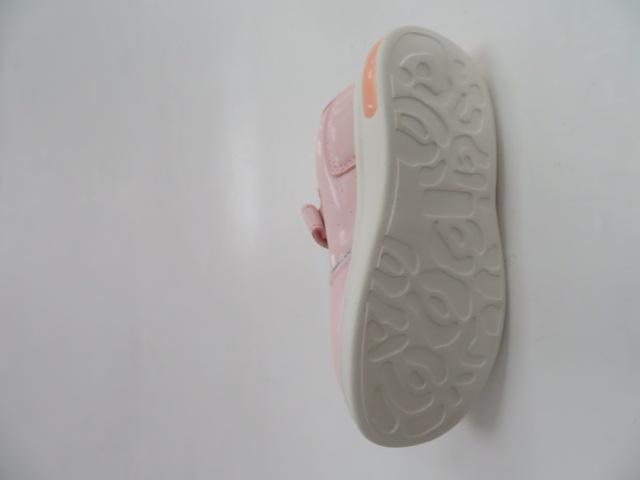 Buty Sportowe Dziecięce E82, White/Pink, 21-26 3