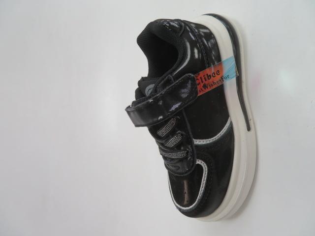 Buty Sportowe Dziecięce E82, Black, 21-26 3
