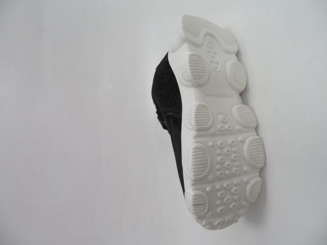 Buty Sportowe Dziecięce E61, Black/Silver, 31-36 4